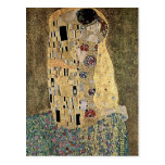 Gustav Klimt's The Kiss (circa 1908) Post Cards