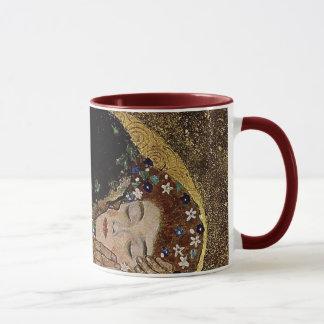 Gustav Klimt's The Kiss Detail (circa 1908) Mug