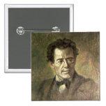 Gustav Mahler 15 Cm Square Badge