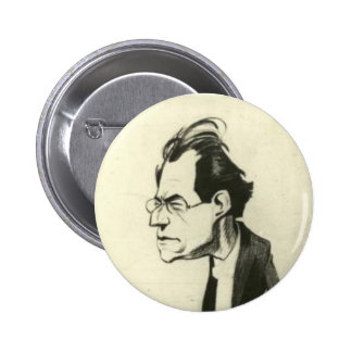 Gustav Mahler button