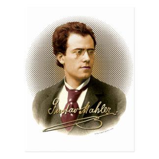 Gustav Mahler Signature Postcards