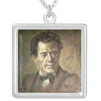 Gustav Mahler Silver Plated Necklace