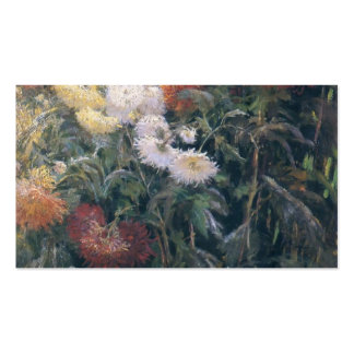 Gustave Caillebotte- Clump of Chrysanthemum Pack Of Standard Business Cards