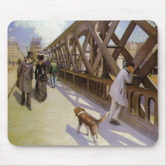 Gustave Caillebotte Mouse Mat