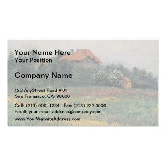 Gustave Caillebotte- Norman Landscape Pack Of Standard Business Cards