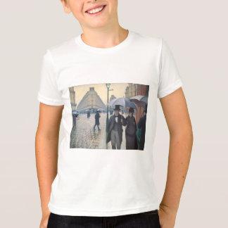 Gustave Caillebotte- Paris, a Rainy Day T-Shirt