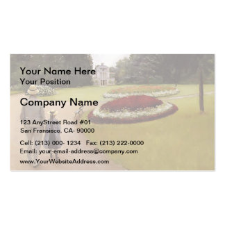 Gustave Caillebotte-Park on Caillebotte Property Double-Sided Standard Business Cards (Pack Of 100)