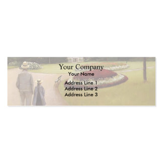 Gustave Caillebotte-Park on Caillebotte Property Double-Sided Mini Business Cards (Pack Of 20)