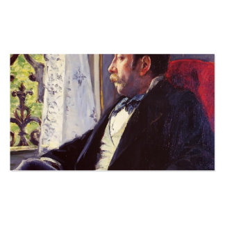 Gustave Caillebotte- Portrait of a Man Pack Of Standard Business Cards