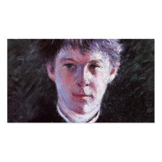 Gustave Caillebotte- Portrait of a Schoolboy Pack Of Standard Business Cards