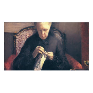 Gustave Caillebotte-Portrait of Madame Caillebotte Double-Sided Standard Business Cards (Pack Of 100)
