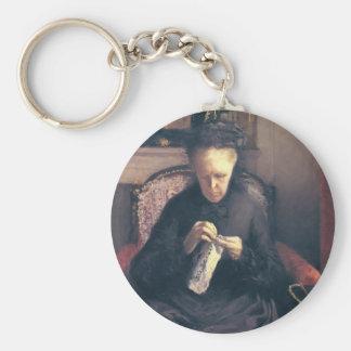 Gustave Caillebotte-Portrait of Madame Caillebotte Keychains