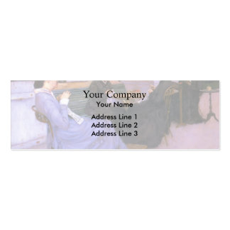 Gustave Caillebotte- Portraits in the Countryside Pack Of Skinny Business Cards