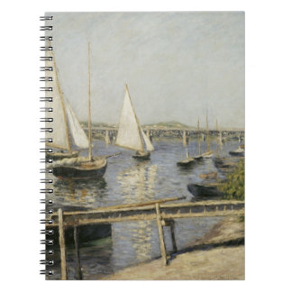 Gustave Caillebotte - Sailing Boats at Argenteuil Journal