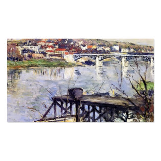 Gustave Caillebotte- The Argenteuil Bridge Pack Of Standard Business Cards
