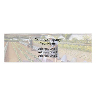 Gustave Caillebotte- The Gardeners Pack Of Skinny Business Cards