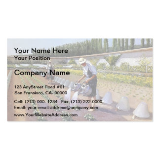 Gustave Caillebotte- The Gardeners Pack Of Standard Business Cards