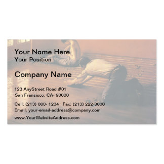 Gustave Caillebotte- The Parquet Planers Pack Of Standard Business Cards