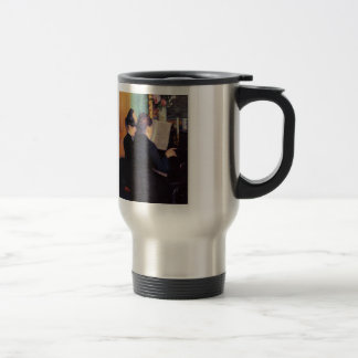 Gustave Caillebotte- The Piano Lesson Stainless Steel Travel Mug