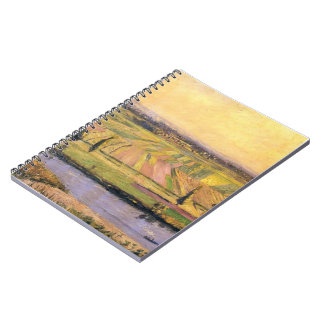 Gustave Caillebotte- The Plain of Gennevilliers Spiral Notebooks