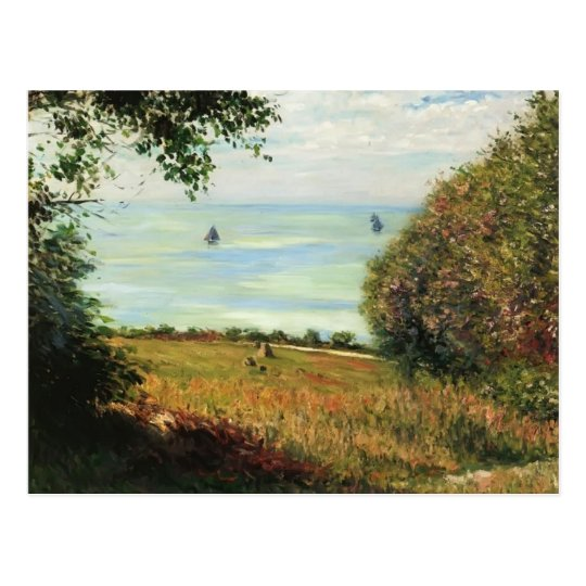 Gustave Caillebotte- View of Sea from Villerville Postcard