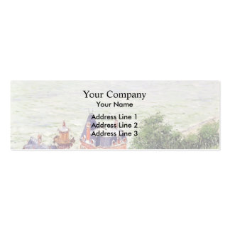 Gustave Caillebotte- Villas at Trouville Pack Of Skinny Business Cards