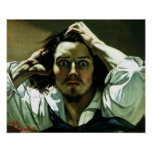Gustave Courbet - The Desperate Man Poster