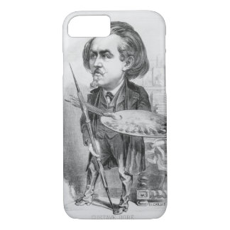 Gustave Dore (1832-83), caricature from 'Le Boulev iPhone 8/7 Case