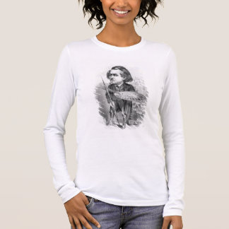 Gustave Dore (1832-83), caricature from 'Le Boulev Long Sleeve T-Shirt