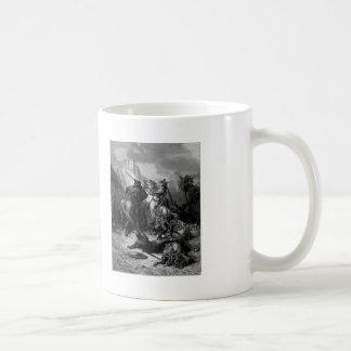Gustave Dore: A Heroine Florine of Burgundy Coffee Mug