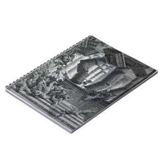Gustave Dore: Death of Samson Spiral Note Book
