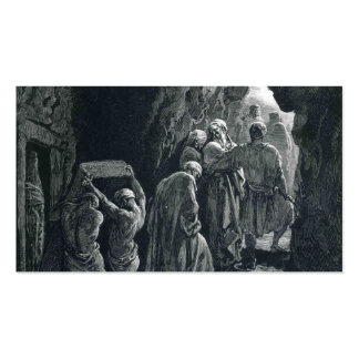 Gustave Dore The Burial of Sarah Business Card Templates