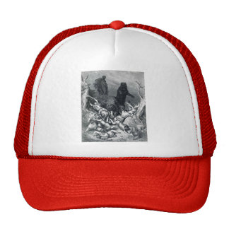 Gustave Dore: The Children Destroyed by Bears Mesh Hats