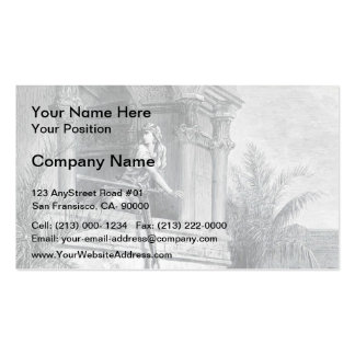Gustave Dore:The Escape of David through Window Pack Of Standard Business Cards