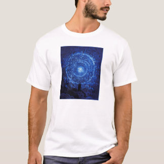 Gustave Dore The White Rose (blue) T-shirt