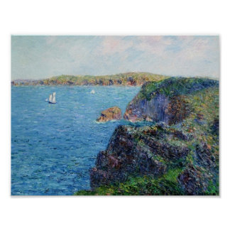 Gustave Loiseau- A Cove at Sevignies Poster