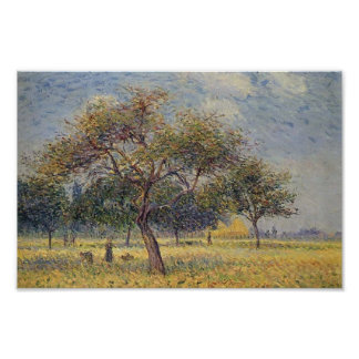 Gustave Loiseau- Apple Trees in October Print