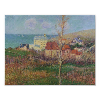 Gustave Loiseau- At the Coast of Normandy Print