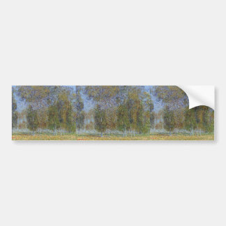 Gustave Loiseau-Autumn near Saint Cyr du Vaudreuil Bumper Stickers
