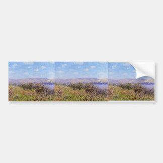 Gustave Loiseau- Banks of the Seine in Summer Bumper Sticker