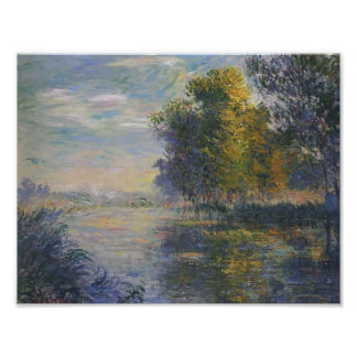 Gustave Loiseau- By the Eure River in Autumn Print