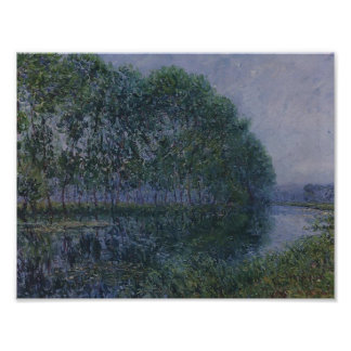 Gustave Loiseau- By the Eure River in Summer Posters