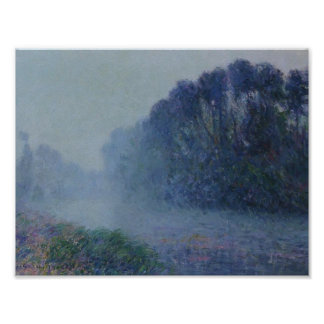 Gustave Loiseau- By the Eure River   Mist Effect Posters