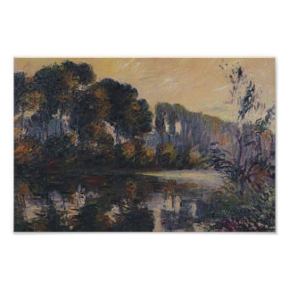 Gustave Loiseau- By the Eure River Poster