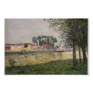Gustave Loiseau- By the Oise at Parmain Print