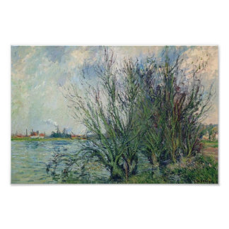 Gustave Loiseau- By the Oise River Print