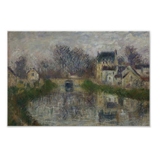 Gustave Loiseau- Canal at Moret Print