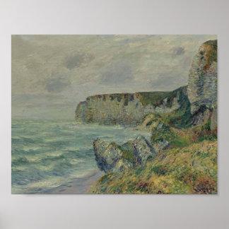 Gustave Loiseau- Cliffs at Saint Jouin Posters