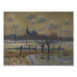 Gustave Loiseau- Flood at Nantes Poster