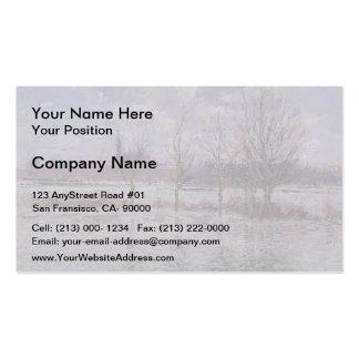 Gustave Loiseau- Flood Near Nantes Business Card Templates